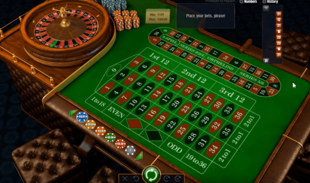 Roulette stratergy